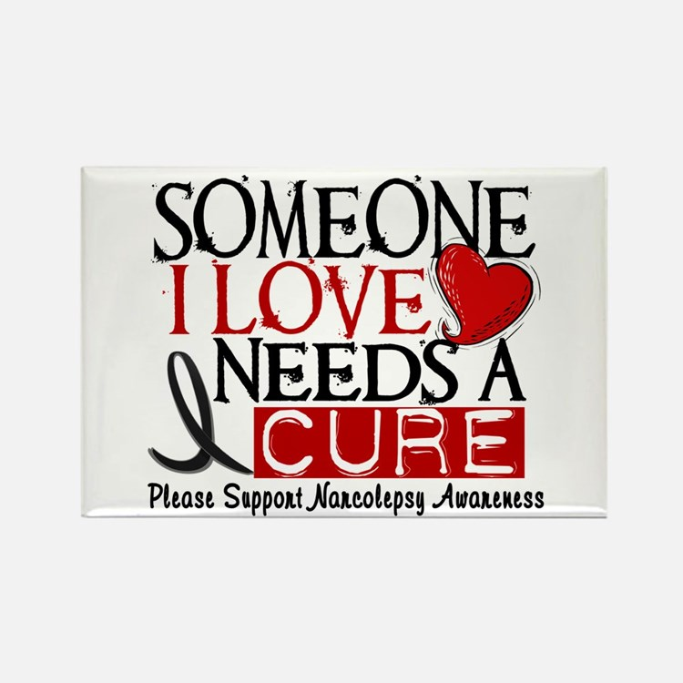 Needs A Cure NARCOLEPSY Rectangle Magnet