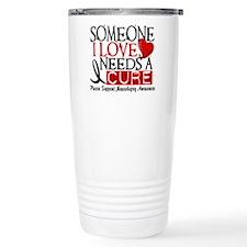 Needs A Cure NARCOLEPSY Travel Coffee Mug