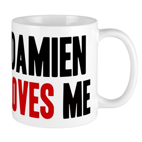 Damien loves me Mug