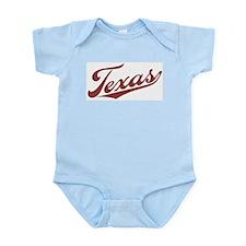 Retro Texas Infant Creeper