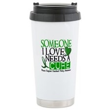 Needs A Cure CEREBRAL PALSY Thermos Mug