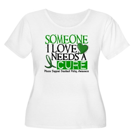 Needs A Cure CEREBRAL PALSY Women's Plus Size Scoo