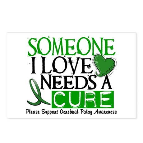 Needs A Cure CEREBRAL PALSY Postcards (Package of