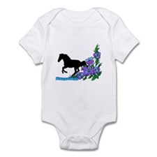 Floral Hanoverian Infant Bodysuit