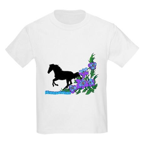Floral Hanoverian Kids Light T-Shirt