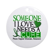 Needs A Cure GLAUCOMA Ornament (Round)