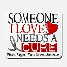 Needs A Cure BRAIN CANCER Mousepad