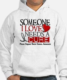 Needs A Cure BRAIN CANCER Hoodie