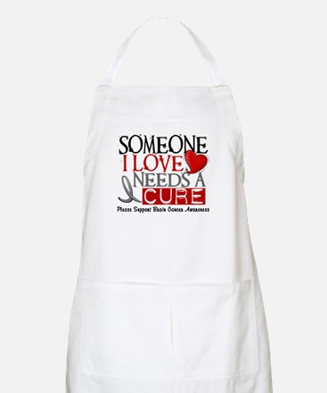 Needs A Cure BRAIN CANCER BBQ Apron