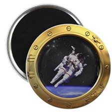 "Space Porthole 2.25"" Magnet (10 pack)"