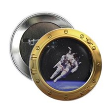 "Space Porthole 2.25"" Button (10 pack)"