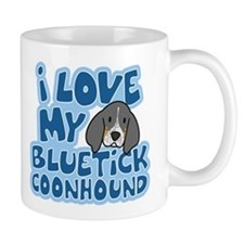 I Love my Bluetick Coonhound Mug