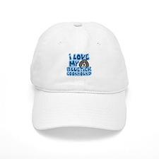 I Love my Bluetick Coonhound Hat