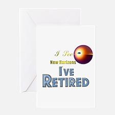 'I See New Horizons. Greeting Card