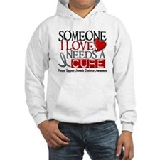 Needs A Cure JUVENILE DIABETES Hoodie