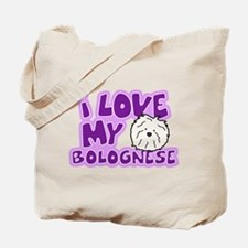 I Love my Bolognese Tote Bag