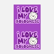 I Love my Bolognese Sticker (Cartoon)