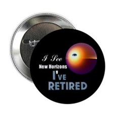 """'I See New Horizons. 2.25"""" Button"""
