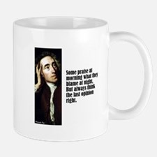 """Pope """"Some Praise"""" Mug"""