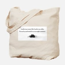 Coffee Grounds Tote Bag - women