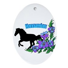 Hanoverian Oval Ornament