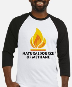 NATURAL SOURCE OF METHANE Baseball Jersey