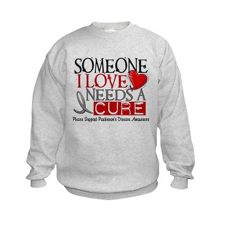 Needs A Cure PARKINSONS Kids Sweatshirt