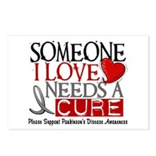 Needs A Cure PARKINSONS Postcards (Package of 8)