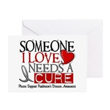 Needs A Cure PARKINSONS Greeting Cards (Pk of 10)