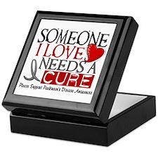 Needs A Cure PARKINSONS Keepsake Box