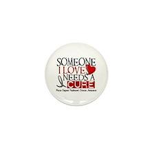 Needs A Cure PARKINSONS Mini Button (100 pack)