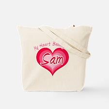 I Heart Sam Tote Bag