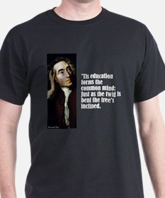 """Pope """"Twig Is Bent"""" T-Shirt"""