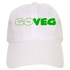 GoVeg - Go Vegetarian Baseball Baseball Cap