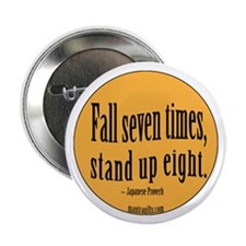 "Stand Up Proverb 2.25"" Button"