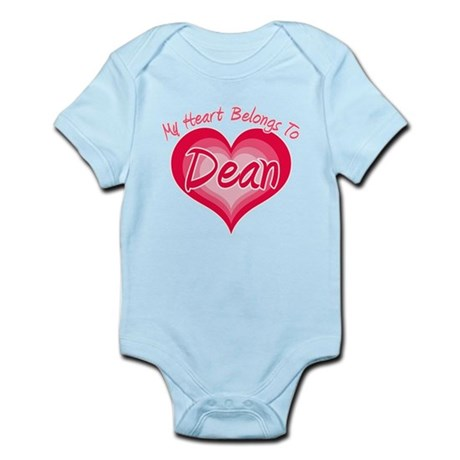 I Heart Dean Infant Bodysuit