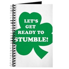 Let's Get Ready To Stumble! Journal