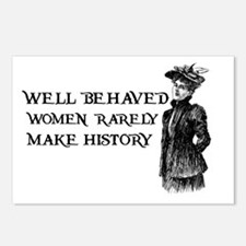 Women Change History Postcards (Package of 8)