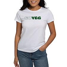 GoVeg - Go Vegetarian Tee