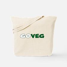 GoVeg - Go Vegetarian Tote Bag