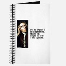 "Pope ""True Wit"" Journal"