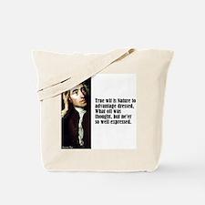 "Pope ""True Wit"" Tote Bag"