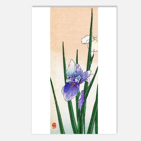 Cute Iris Postcards (Package of 8)