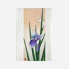 Cute Iris Rectangle Magnet