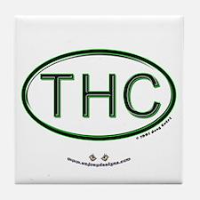 THC - Tile Coaster