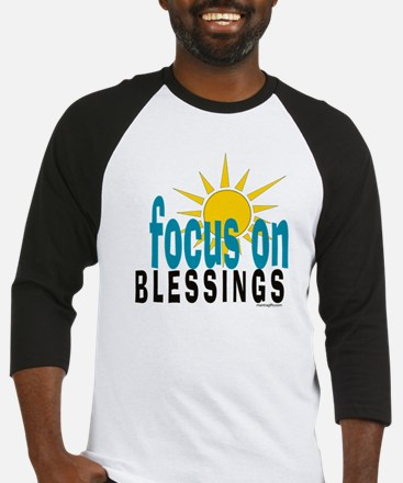 Focus on Blessings Baseball Jersey