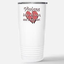 Viviana broke my heart and I hate her Travel Mug