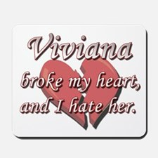 Viviana broke my heart and I hate her Mousepad