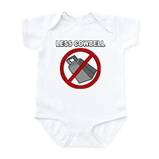 Less Cowbell Infant Bodysuit
