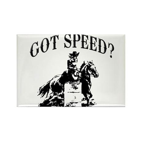 Got speed? Rectangle Magnet (100 pack)